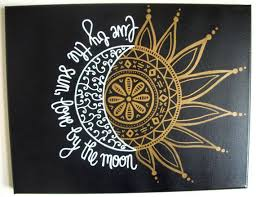 This is a custom, made to order flat canvas that reads Live by the sun
