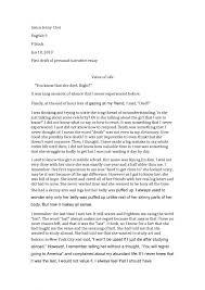 simple narrative essay example a great college essay example best simple narrative essay example a great college essay example best college admission essays personal narrative essay examples high school narrative essay