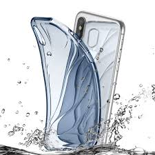 Купить Чехол <b>Baseus Water</b> modelling Case Transparent Blue с ...