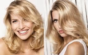 blonde um length hairstyles