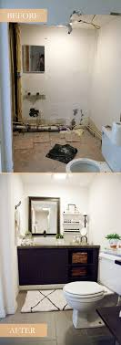 bathroom remodel pictures before and after. Our Light And Bright Simple Studio Bathroom Remodel: A Before After. Remodel Pictures After