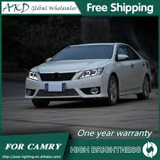 2014 Camry Led Lights Akd Car Styling For Toyota Camry Led Headlights 2012 2014 Camry V50 Headlight Drl Bi Xenon Lens High Low Beam Parking Fog Lamp