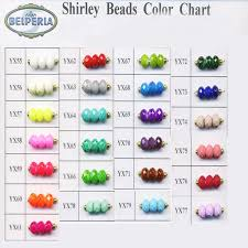Bead Color Chart 2019 Diy Beads New Design Faceted Glass Beads Faceted Emerald Beads Charms And Beads With Different Color Oval Shape Bottom Price On Sale Yx 78 From