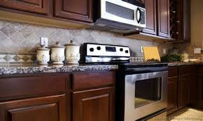 kitchen backsplash cherry cabinets. Wonderful Cabinets Kitchen Backsplash With Dark Cherry Cabinets Fanti Blog On