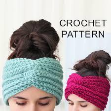 Easy Crochet Headband Pattern Cool Decorating Design