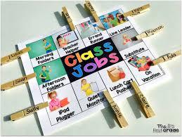 First Grade Classroom Jobs Preschool Classroom Jobs