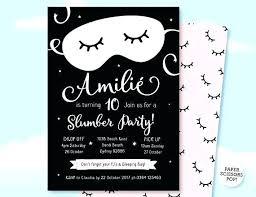 sleepover template sleepover party invitations also slumber party invitations also like