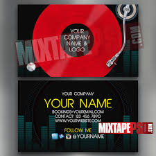 Product Line Card Template Dj Business Cards Awesome Make Dj Business Cards Line Card Design