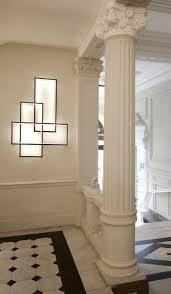 luminria de parede led com luz indireta trio lt by cinier radiateurs contemporains design johanne cinier beach style balcony helius lighting group