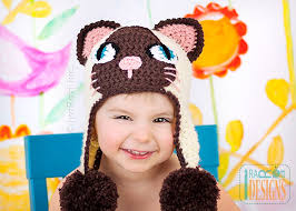 Cat Hat Crochet Pattern Fascinating Yin And Yang Siamese Kitty Hat PDF Crochet Pattern IraRott Inc