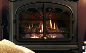 can i turn a gas fireplace into wood burning down pilot light you on without electricity