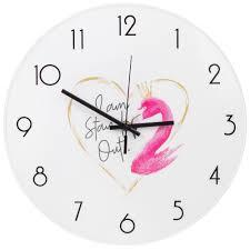 """Настенные <b>часы</b> Красный куб """"Розовый <b>фламинго</b>"""" — купить в ..."""