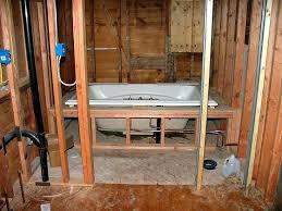 installing new bathtub installing a bathtub bathtub install tile around