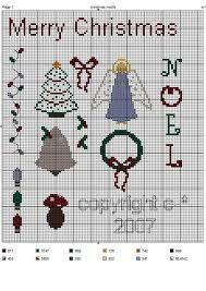 Hancocks House Of Happy Free Christmas Cross Stitch Motifs
