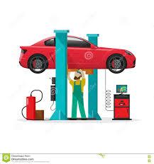 Automotive Design Tools Car Repair Shop Station Repairman Auto Diagnostics Tools