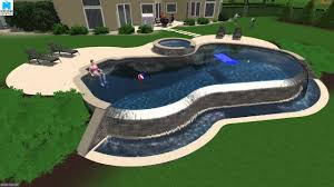 Image Pool Decks Youtube Custom Designed 3d Salt Water Infinity Edge Pool By Monogram Custom Pools In The Lehigh Valley