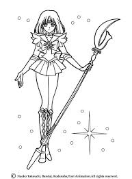 Small Picture Sailor saturn in her original uniform coloring pages Hellokidscom