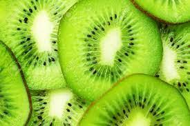 Green Kiwi Slices Wallpaper Stock Photo ...