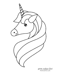 Cute unicorn coloring pages for kids: Top 100 Magical Unicorn Coloring Pages The Ultimate Free Printable Collection Print Color Fun