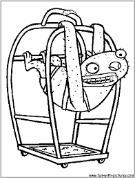 Almostnakedanimals sloth coloring page