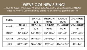 Avon Bra Size Chart 20 Extraordinary Avon Clothes Size Chart