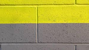 things stick to cinder block walls