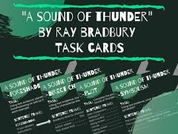 A Sound Of Thunder Plot Chart A Sound Of Thunder Plot Worksheets Teaching Resources Tpt