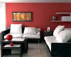 Red Wall Living Room Decorating Living Room In Red Indelinkcom