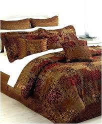 burnt orange and brown king comforter sets size set awesome bedding comforters ideas amazing