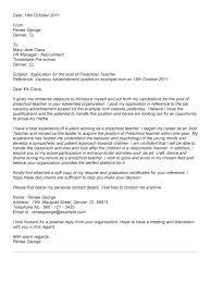 Best Solutions Of Assistant Preschool Teacher Resume Cover Letter