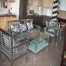 stainless steel furniture designs. Stainless Steel Sofa Sets Furniture Designs L
