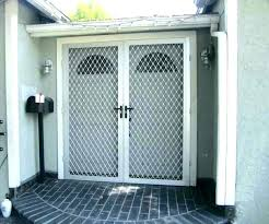 lifestyle garage door screens screen doors for garage garage door screen kits double screen doors double