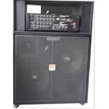 Tủ Loa Kéo Điện Và Ampli Bluetooth C30B - dàn karaoke công suất lớn được  thiết kế nhỏ gọn