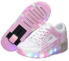 Led Roller Shoes Kids Heelys Trainers With Singel Wheel