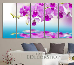 pink orchid flower canvas print 60 x 32 canvas art prints for wall  on orchid flower wall art with pink orchid flower canvas print 60 x 32 canvas art prints for wall