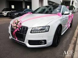 audi s5 sportback wedding car decoration 1 1