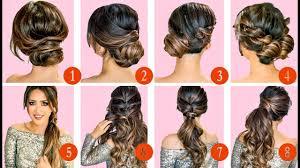 10 Elegant Hairstyles Updos Easy Hairstyle Tutorial For Long Medium Hair