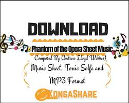Sheet music arranged for piano/vocal/guitar in c major (transposable). Download Phantom Of The Opera Piano Sheet Music In
