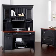 Gorgeous Black Computer Desk Engineered Wood With Melamine Top Surface Two  Utility Drawers One Letter Legal ...