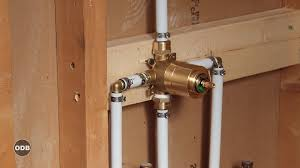 How To Install A Shower Faucet New Construction