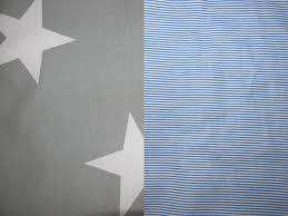 nursery bedding set grey stars