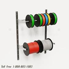 wall mounted spool racks adjustable
