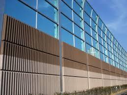 sound barrier walls. 2nd Sound Barrier For District 20 Walls C