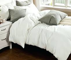 this white duvet cover is handmade from pure eco lux french linenlinen ikea australia linen queen