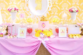 Princess Belle Birthday Party Decorations