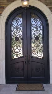 We Worked Hand In Hand With Our Customers To Design This Custom - Iron exterior door