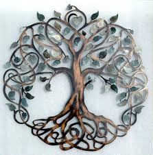 metal tree of life wall hanging metal wall art shades of grey tree of life infinity metal tree of life wall hanging metal tree art