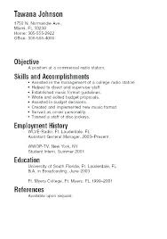 College Student Resume Examples New Information Technology Student Resume Sample No Experience Graduate