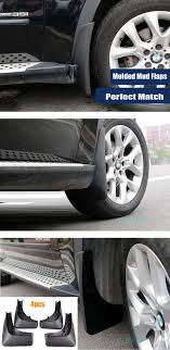 BMW 3 Series 2013 bmw x5 accessories : Rear Mudflaps Fit For 2007-2013 Bmw X5 E70 Accessories Mud Flap ...