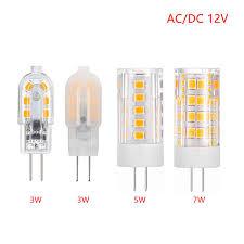<b>New LED</b> 3W 5W 7W 9W 12W SMD2835 <b>G4 LED Lamp</b> AC/DC 12V ...